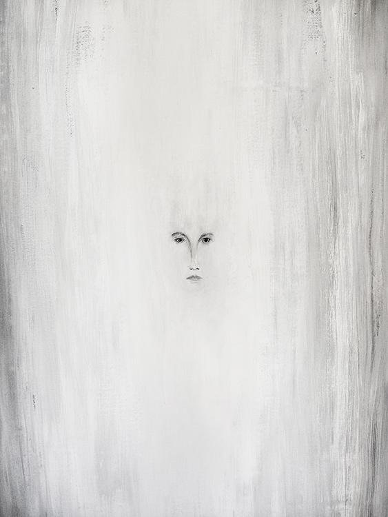 Untitled Portrait in White #1